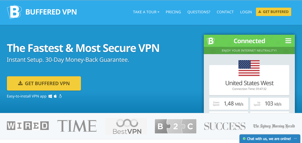 buffered vpn preis