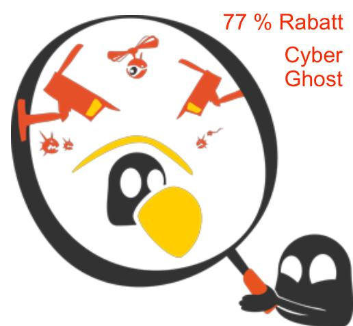 Cyber Ghost Rabatt und Gutschein