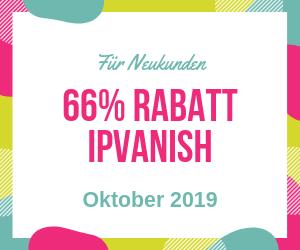 IPVanish Rabatt Oktober 2019