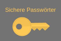 sicheres passwort mit dem Passwort Generator erstellen