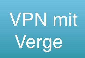 VPN mit Verge zahlen